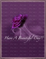text fleur rose fond image purple