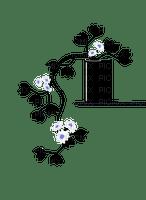 silhouette black plant room pot flower fleur deco tube vase pflanze plante zimmer chambre
