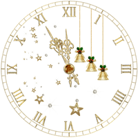 clock new year christmas horloge noel nouvel an