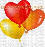 image encre bon anniversaire coeur mariage color effet ballons  edited by me
