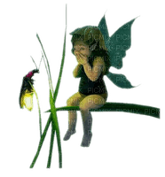 fairy  child green fee enfant vert