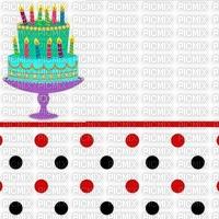 multicolore image encre gâteau pâtisserie bon anniversaire ivk mariage à pois rose blanc bleu edited by me
