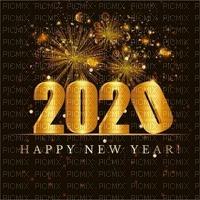 new year 2020 silvester number  text la veille du nouvel an Noche Vieja канун Нового года gold fond