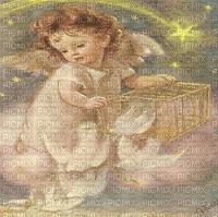 ANGEL CHILD AND DOVES TRANSPARENT BG ange enfant fond