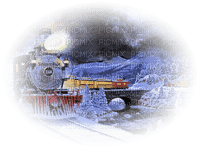 Kaz_Creations Paysage Scenery Train
