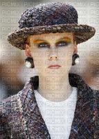 image encre couleur texture femme visage chapeau edited by me