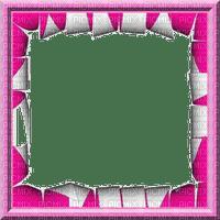 rfa créations - cadre rose et blanc