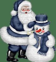 Hiver_ Père Noël_Winter Santa Claus