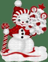 Winter. Snowman. Christmas. Leila