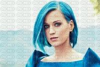 katy perry, tes cheveux bleu,ça flash!