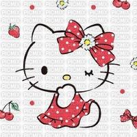 Marguerite fond hello kitty background daisy