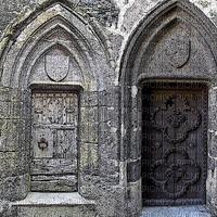 fond pierre -médiéval