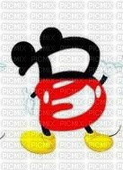 image encre lettre B Mickey Disney edited by me