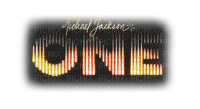 Kaz_Creations  Michael Jackson One Logo Text