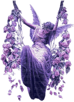 purple angel swing  violet ange balancer