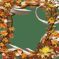 automne cadre feuilles -autumn leaves  frame