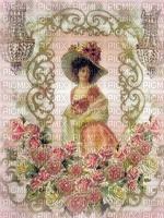image encre couleur texture femme mode charme chapeau fleurs  edited by me