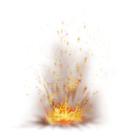 fire feu  bg