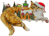 village chat noël christmas