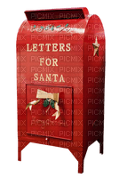 santa claus mail box