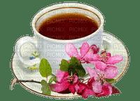 tea tee thé cup deco fleur