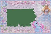 multicolore image encre bon anniversaire fleurs barbie poney color effet  edited by me