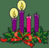 christmas candle wreath Advent 2.