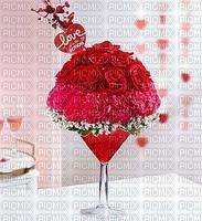 image encre color fleurs mariage bon anniversaire edited by me