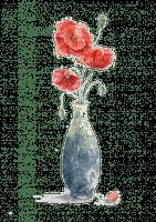 Aquarelle.Fleurs.Flowers.Watercolor.Victoriabea