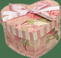 Box Heart Pink Beige - Bogusia