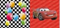 image encre bon anniversaire  effet voiture ballons Disney edited by me