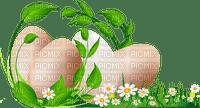 easter  border eggs pâques