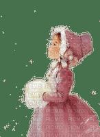 charmille fillette hiver
