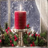 CHRISTMAS WINDOW CANDLES fenetre noel bougies
