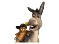 Kaz_Creations Cartoons Shrek Donkey Puss In Boots