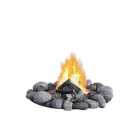 campfire camp fireplace deco tube camping  fire feuer feu feu de camp lagerfeuer