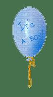 image encre  color it's a boy effet ballon  edited by me