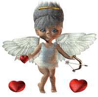 Kaz_Creations Dolls Cookie  Cupid Hearts Love Valentine Valentines