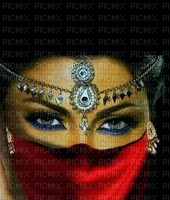 image encre femme fashion ivk rouge Arabe les yeux edited by me