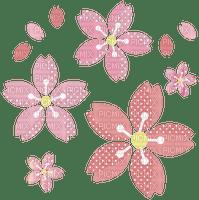Fleur rose pink flower sakura cherry cerise