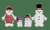 snowman winter hiver deco