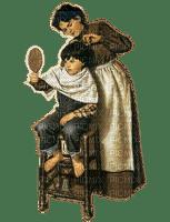 Rena Vintage Mother Boy Mutter Haareschneiden