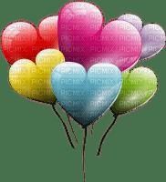 Kaz_Creations Heart Hearts Love Valentine Valentines Balloons