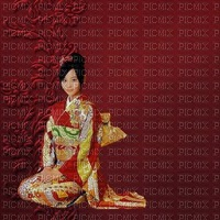 image encre couleur effet texture mariage geisha femme edited by me