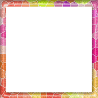 frame pink green cadre vert rose