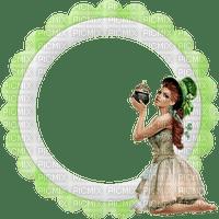 femme,fashion,fille,visage,deko,tube, GIF, animation, scrapbooking, jour de St Patrick,cadre,adam64