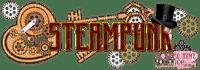 steampunk deco text