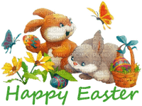 easter ostern Pâques paques  deco tube  text bunny lapin