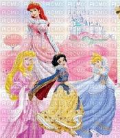 image encre bon anniversaire  effet château  Disney les princesses edited by me