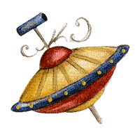 Toy, Toys, Gift, Gifts, Present, Presents, Christmas, X-mas, Birthday, B-day, Spinning Top - Jitter.Bug.Girl